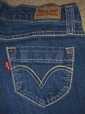 LEVIS 524 Too Superlow Skinny Stretch Denim Jeans Womens Size 3 x 29.5