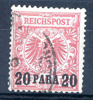 GERMANY LEVANT OFFICE IN TURKEY Mi # 7 a Used VF