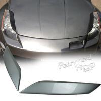 --PKUK Painted KY0 For Nissan 350Z Z33 Fairlady Z Headlight Eyelid Cover