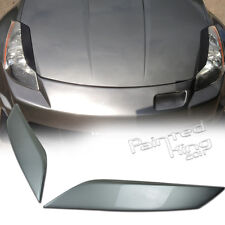--PKUK Painted KY0 For Nissan 350Z Z33 Fairlady Z Headlight Eyelid Cover