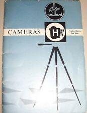 Instructions Movie BOLEX H16 reflex, H16 standard, H8 CD/Email