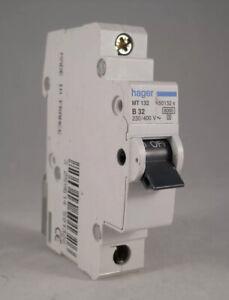 HAGER MT FULL RANGE MCB / RCDS / MAIN SWITCH MT / NC / N M6 U TYPE B / C OR 2