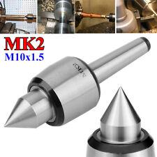 MK2 Live Center Rotary Active Top Tool Internal Thread m10x1.5 Lathe Machine NEW