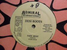 "DESI ROOTS Fade Away ADMIRAL Roots Reggae 12"" HEAR V49"