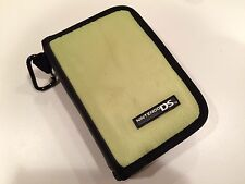 Nintendo DS Game Storage - Olive -Zippered Travel Carry Carrying Case NYLON