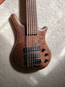 1998 Warwick Thumb Bolt On, 6-String, Natural Finish, Excellent Condition