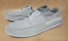 Rockport Adiprene Mens Suede Boat Shoes 12 Casual Oxfords