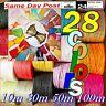 Raffia Paper Ribbon 28 Colours 100m decorating flowers gifts crafts scrapbooks