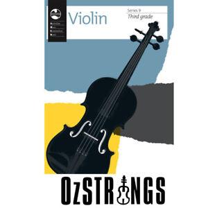 AMEB Violin Series 9 - Third Grade - 3