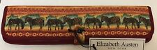 "Serengeti Hard Straight 10"" Straight Knitting Needle Case By Elizabeth Austen"