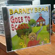 NEW/SEALED Barney Bear Goes to School Vintage PC Computer CD Game by Free Spirit