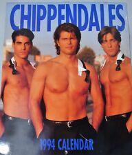 RARE CHIPPENDALES 1994 CALENDAR
