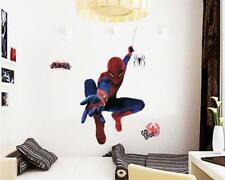 Spiderman Wandtattoo XXL Wandbild Kinderzimmer Superheld Kino Deko cool WoW W029