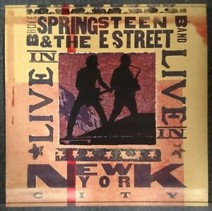 Bruce Springsteen Live in New York City 2001 Double Sided PROMO POSTER