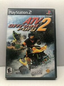 ATV Offroad Fury 2 (PlayStation 2, 2006) Complete Tested Working - Free Ship