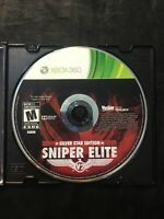 Sniper Elite Silver Star Edition — Disc Only! Free Shipping! (Xbox 360, 2012)