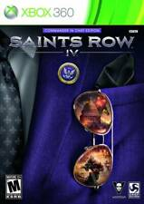 Saints Row Iv- Commander In Chief Edition *With Manual* (Xbox 360,2013)