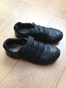 Clarks Leather School Shoes air suffolk jnr boys uk 3.5G eu 36
