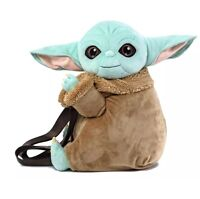 Loungefly Fall 2020 Virtual Con Star Wars The Child Baby Yoda Plush Backpack NEW