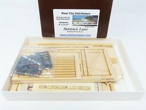 HO 1/87 Scale Sidetrack Laser Kit River City Distributors - Building