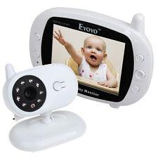 """3.5"""" Color Digital Inalámbrico LCD 70° bebé monitor seguridad Cámara Wifi"""