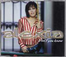 Alexia - Don't You Know - CDM - 2002 - Europop Italopop 2TR