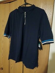 Nike Womens XL Victory 1/4 Zip Pullover Polo Golf Shirt Top Dri-Fit Blue CI9826
