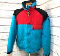 REI Outdoors Vintage Colorblock Ski Jacket Mens L EUC 1990s 4-86