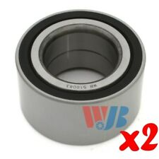Pair of 2 New Front or Rear Wheel Bearing WJB WB510083 Interchange 510083 FW187