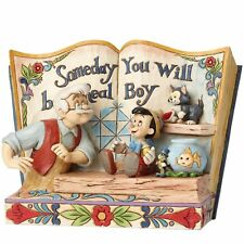 Disney Traditions 4057957 Someday You Will Be A Real Boy Storybook Pinocchio