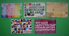 Nederland NVPH 2816 t/m 2820 Jubileumzegels 2011 gestempeld