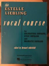 The Estelle Liebling Vocal Course Soprano Coloratura Lyric and Dramat 000312242