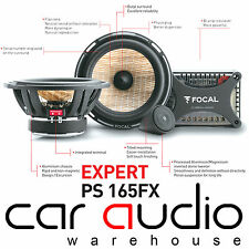 "Focal PS165FX Expert Flax Cone 17cm 6.5"" 2-Way Component Car Stereo Speaker 160W"