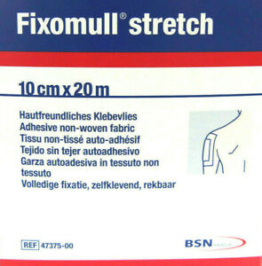 Klebevlies Fixomull stretch 10 cm x 20 m selbsthaftend Verband REF47375-00