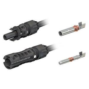 Genuine MC4-EVO 2 1.5KV 4-6mm Solar PV Connectors PV-KBT4-EVO2/6I-UR - 1 Pack of
