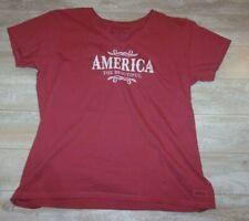 Life is Good Shirt Red America The Beautiful Crusher Tee Nwot Sz Xl