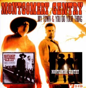 Montgomery Gentry – My Town & You Do Your Thing   2-cd  new in seal