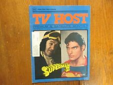Jan-1983 Pa. TV Host Magazine(SUPERMAN  II/CHRISTOPHER REEVE/CATHERINE SHIRRIFF)