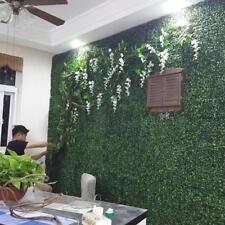Artificial Turf 10 Pcs Plastic Boxwood Grass Mat 25X25cm Green Lawn Home Garden
