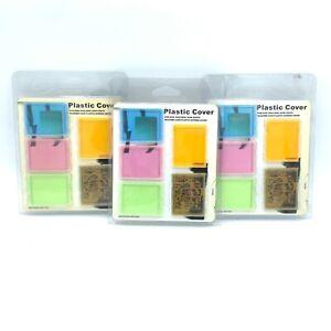 Lot of 3 Silicone Case Plastic Screen Cover for iPod iPod Mini iPod Photo