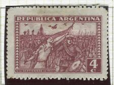 ARGENTINA;  1930 September Revolution issue Mint hinged 4c. value