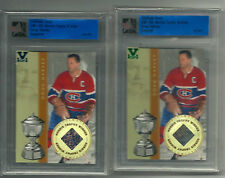 Doug Harvey ITG Ultimate Vault 1/1 on UM5 Norris Trophy Winner Sapphire Logo