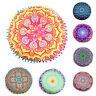 Indian Mandala Floor Pillow Case Throw Round Bohemian Cushion Cover Pouf Sham UK
