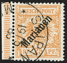 MOMEN: GERMAN COLONIES MARIANA #15a 48 DEGREES USED **CERT** $2,750