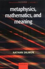 Metaphysics, Mathematics, and Meaning Vol. 1 : Philosophical Papers by Nathan Sa