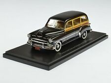 Neo Chevrolet Deluxe Styleline Sation Wagon 1952 Black/Wood 1:43 46435