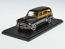 Neo Chevrolet Deluxe Styleline Sation Wagon 1952 Black/Wood 1:43 46435