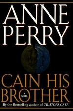 William Monk Novel: Cain His Brother by Anne Perry (1995, Hardcover) VG Free Shi