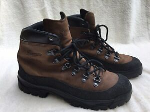 Danner 43513X Combat Hiking Hiker Brown Leather Boots Men's size 10.5