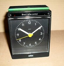 älter BRAUN refelx control Wecker 4751 AB35rs / Made in Germany / funktionsfähig